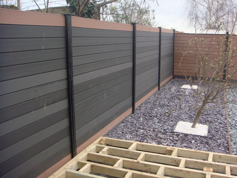Einen Zaun Aus Wpc Selber Bauen Alumalmet