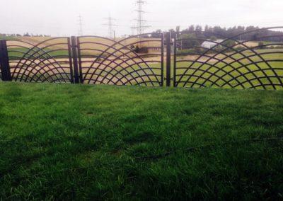 Zdjęcie ogrodzenia